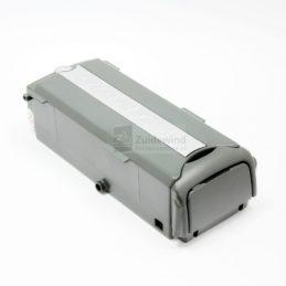 Originele accu voor Giant Twist modellen met 26 volt motor. Capaciteit 26v 9Ah (234Wh). De originele acculader is desgewenst ook in onze webshop verkrijgbaar. Als alternatief voor de originele accu kunt u ook kiezen voor één van onze Giant compatible accu's, met een capaciteit van 12.5Ah of zelfs 17Ah voor een hogere actieradius. Overige kenmerken / specificaties: Laadaansluiting: 4-pins Artikelnummer Giant: 244M08GE001-1VPlaatsing accu: zijkant drager (in fietstas) De accu is geschikt voor de volgende Giant modellen (modeljaren 2008 – 2012): Giant Twist Sport CS Giant Twist Elegance CS Giant Twist Express CS Giant Twist Comfort CS Giant Twist Freedom CS Giant Twist Lite Single Giant Twist Go Single Giant Twist Go Double De accu is NIET geschikt voor Giant Twist Power