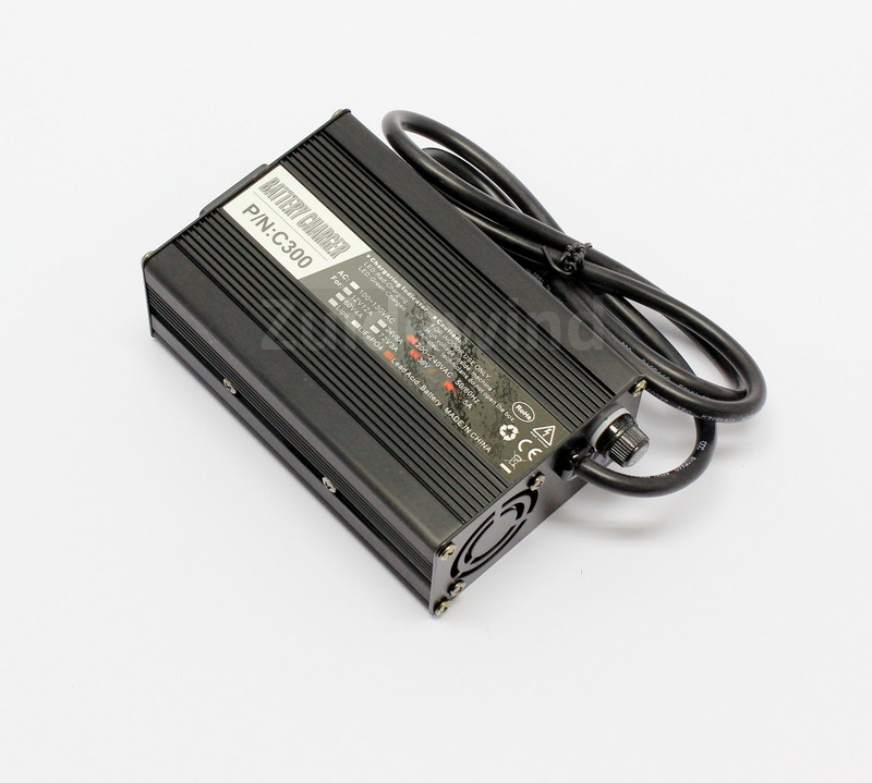 Acculader SLA / Loodaccu's 36v 2Ah (XLR3)