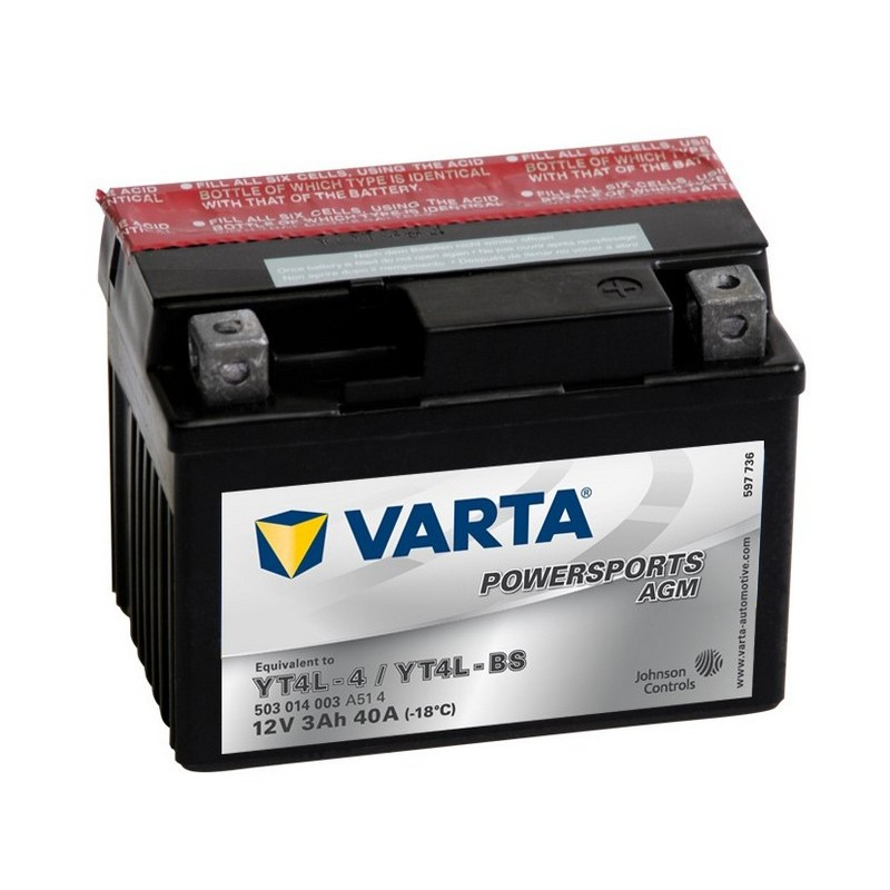 Varta YTL4-BS