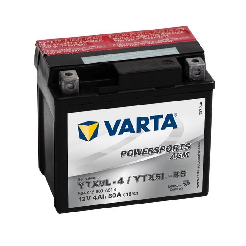 Varta YTX5L-BS