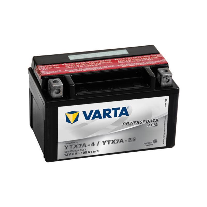 Varta YTX7A-BS