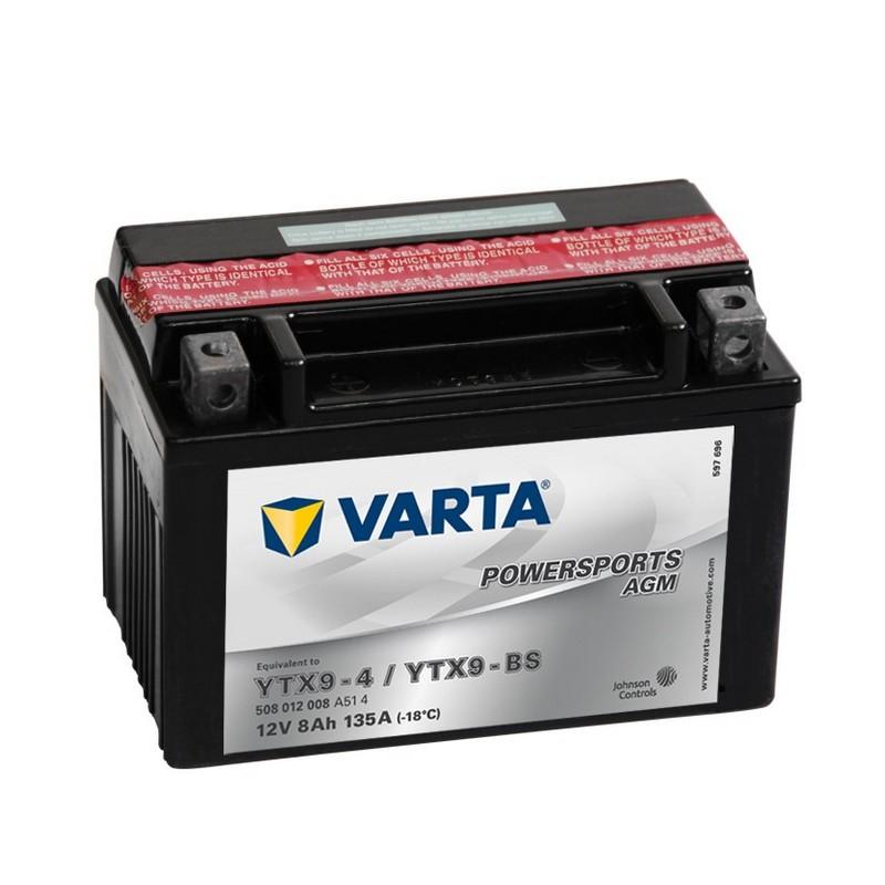 Varta YTX9-BS