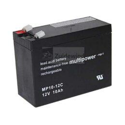 Multipower accu 12 volt 10Ah (10000mAh)